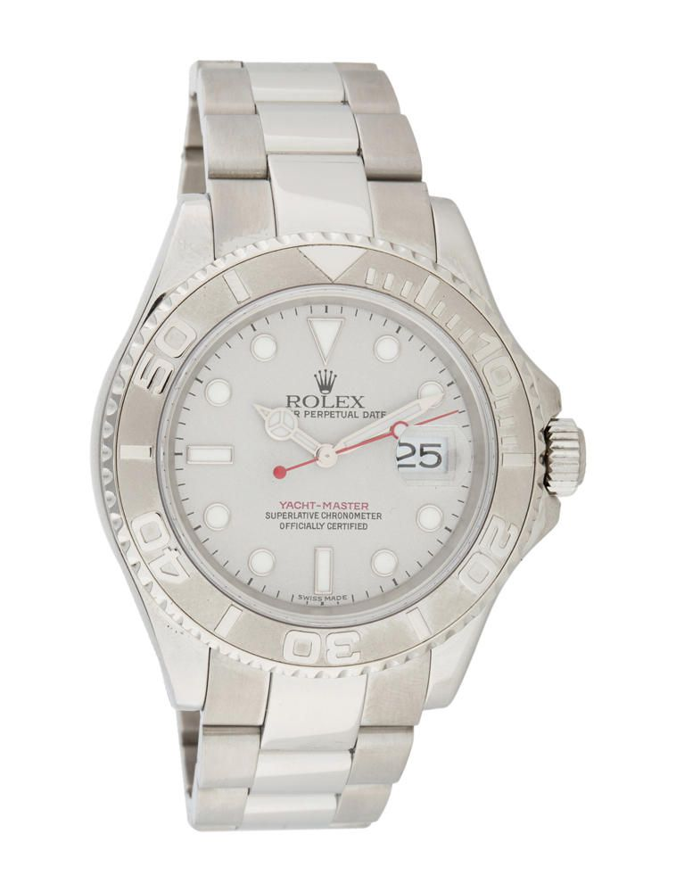 Rolex Yachtmaster Watch Silver | The RealReal