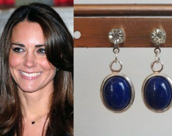 Kate Middleton Inspired Halo CZ Earrings by TheLookingGlassShop