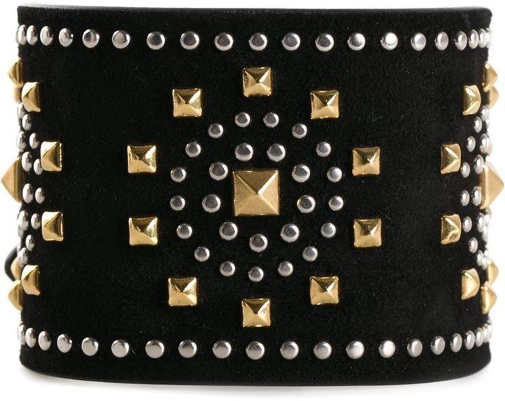 Valentino Garavani 'Microstud' cuff on shopstyle.com