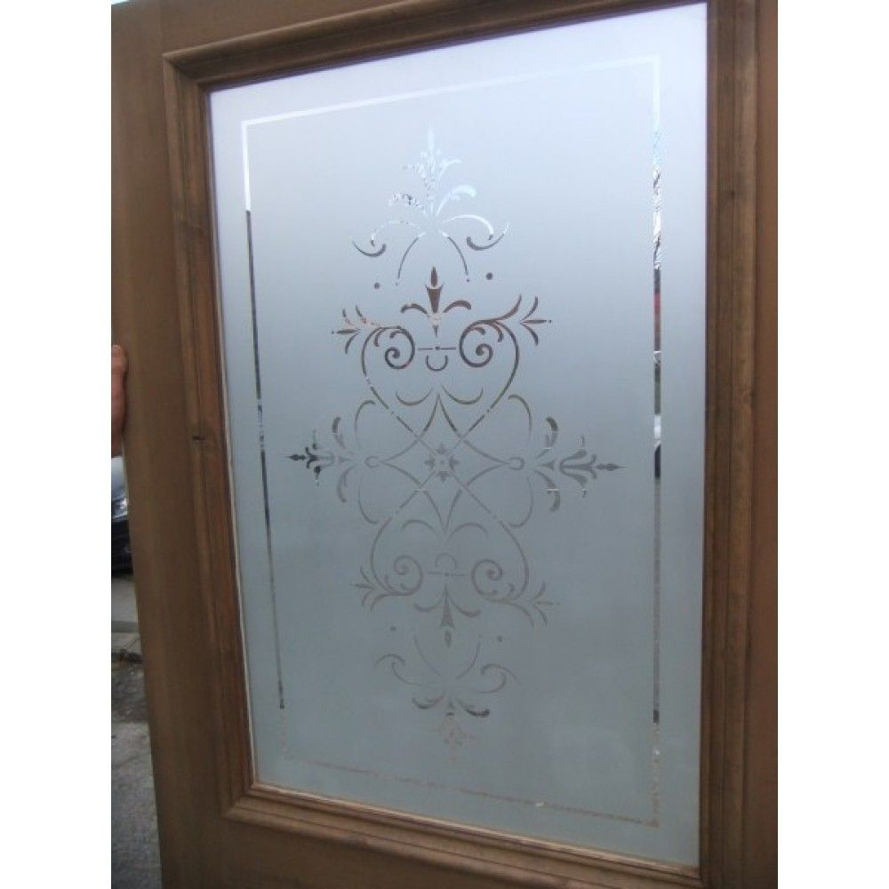 etching glass | Etched Glass Door - The Regent B  sc 1 st  Pinterest : etched doors - pezcame.com
