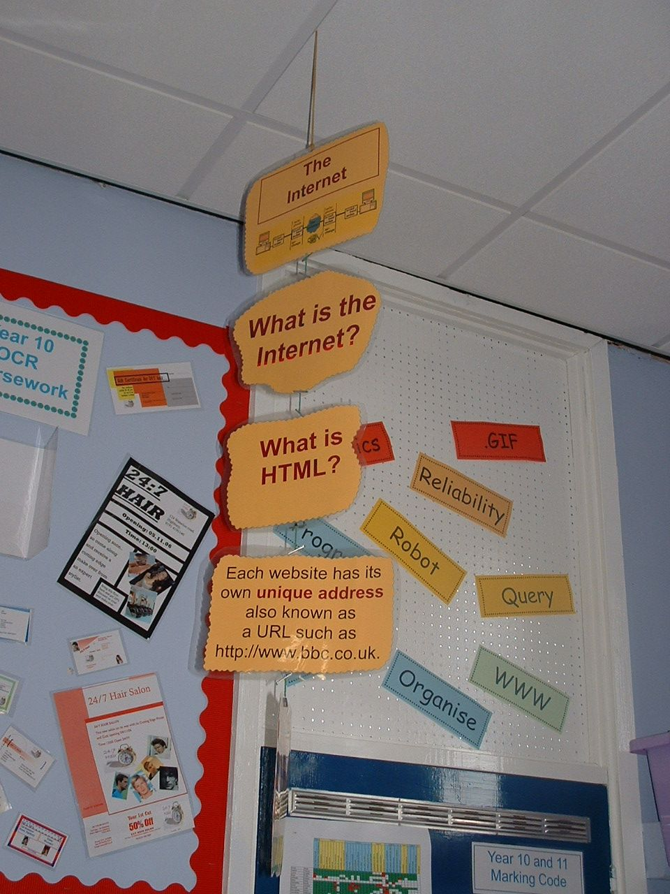 Classroom Mobiles Ideas ~ Another vocabulary resource school pinterest