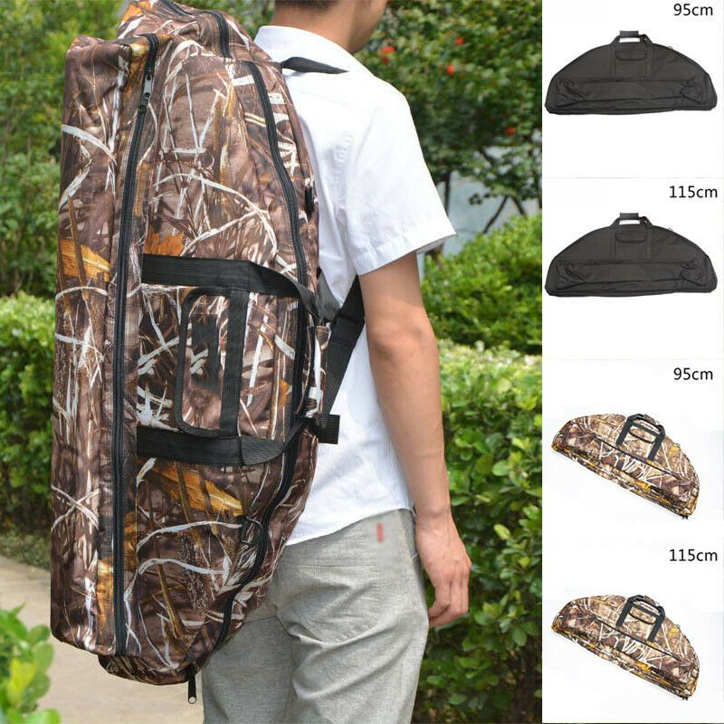 Archery Molle Bow Bag for Compound Bow with Arrow Holder Outdoor Hunting Case