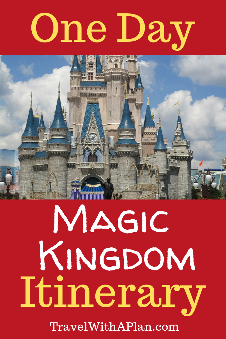 1 Day Magic Kingdom Itinerary