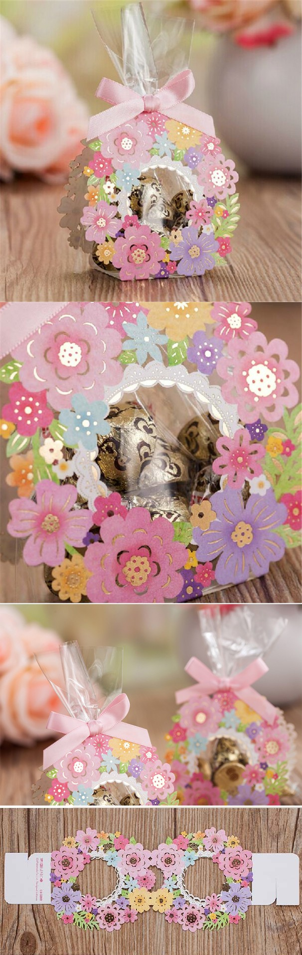 Wedding decorations paper  pcslot Pastoral Style Favors and GIfts Wedding Decor Laser Cut