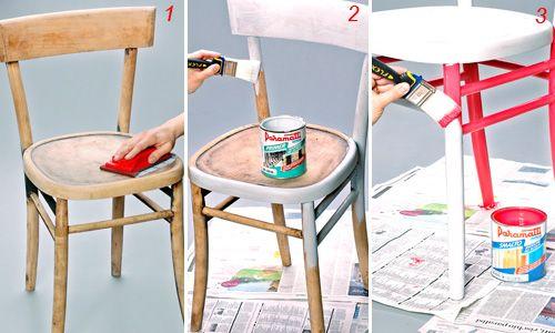 Sedie Decorate Fai Da Te : Fai da te mummy la sedia di design di peter traag fai da te