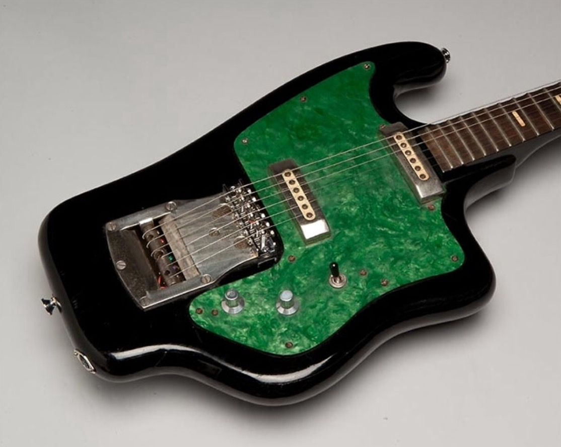 Tonika Was One Of If Not The First Commercial Electric Guitar