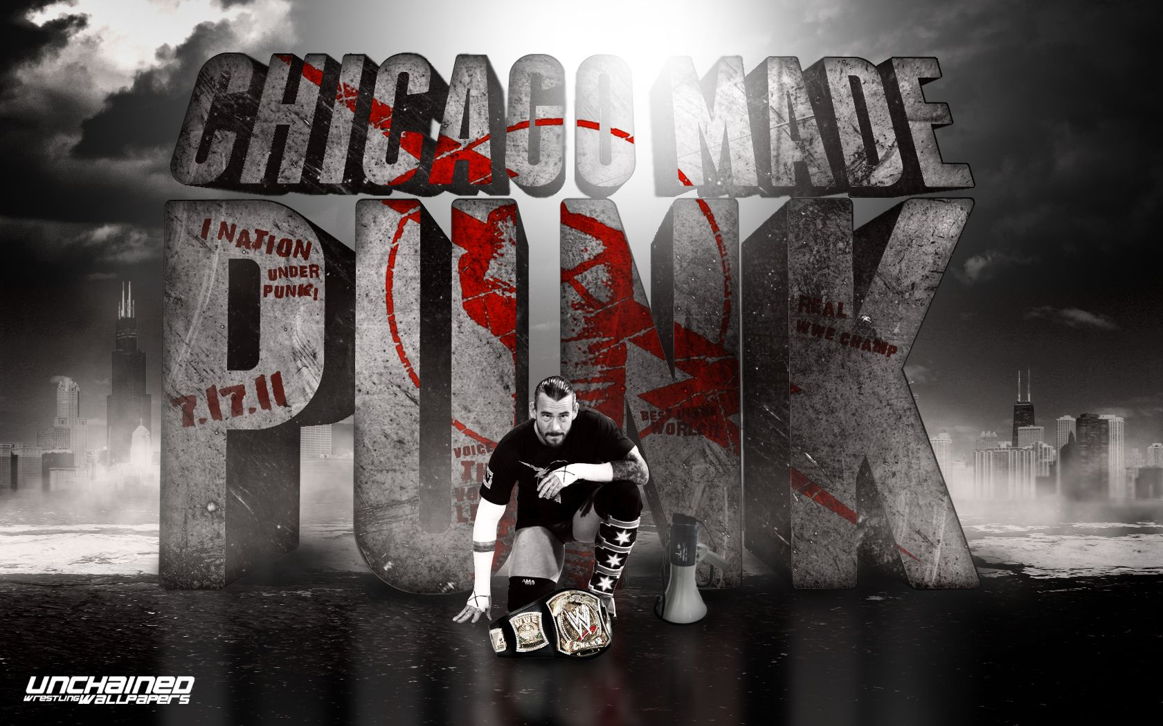 Chicago made punk cm punk wallpaper people to love pinterest hd wallpaper and background photos of chicago made punk for fans of cm punk images voltagebd Choice Image