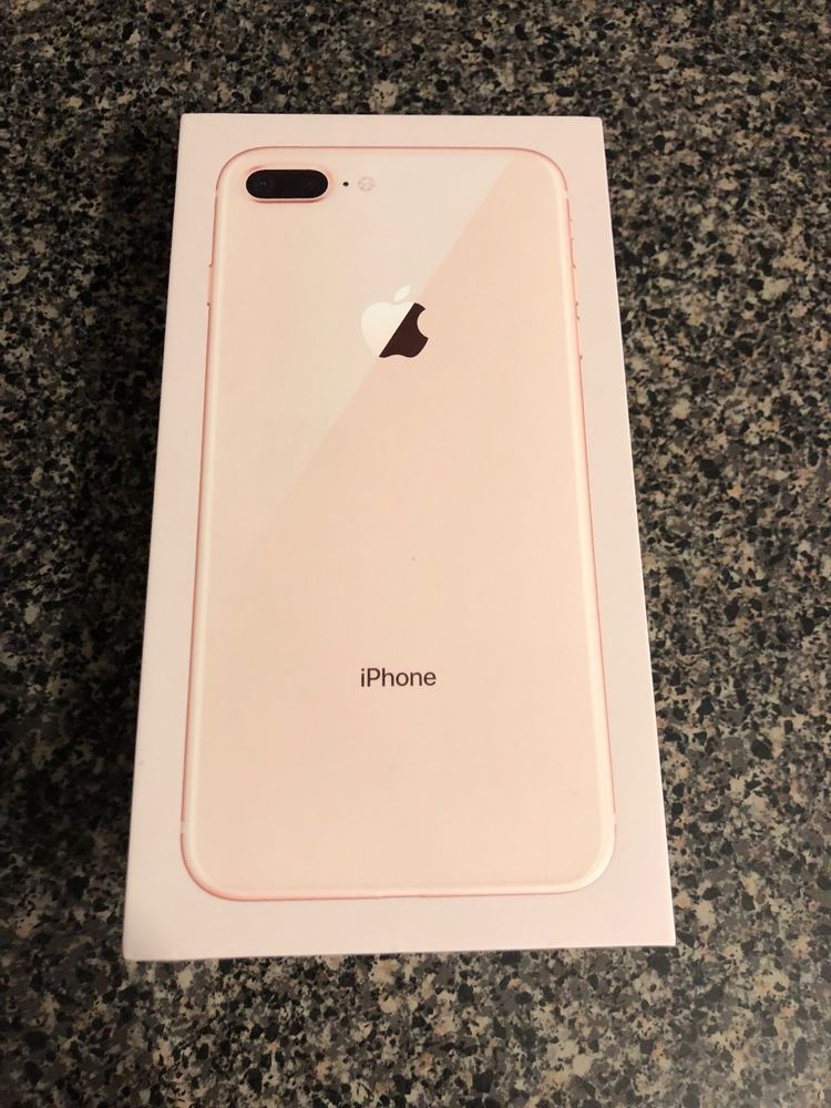 Apple Iphone 8 64 Gb Plus Rose Gold Box Only Apple Iphone Iphone 8 Plus Iphone 8