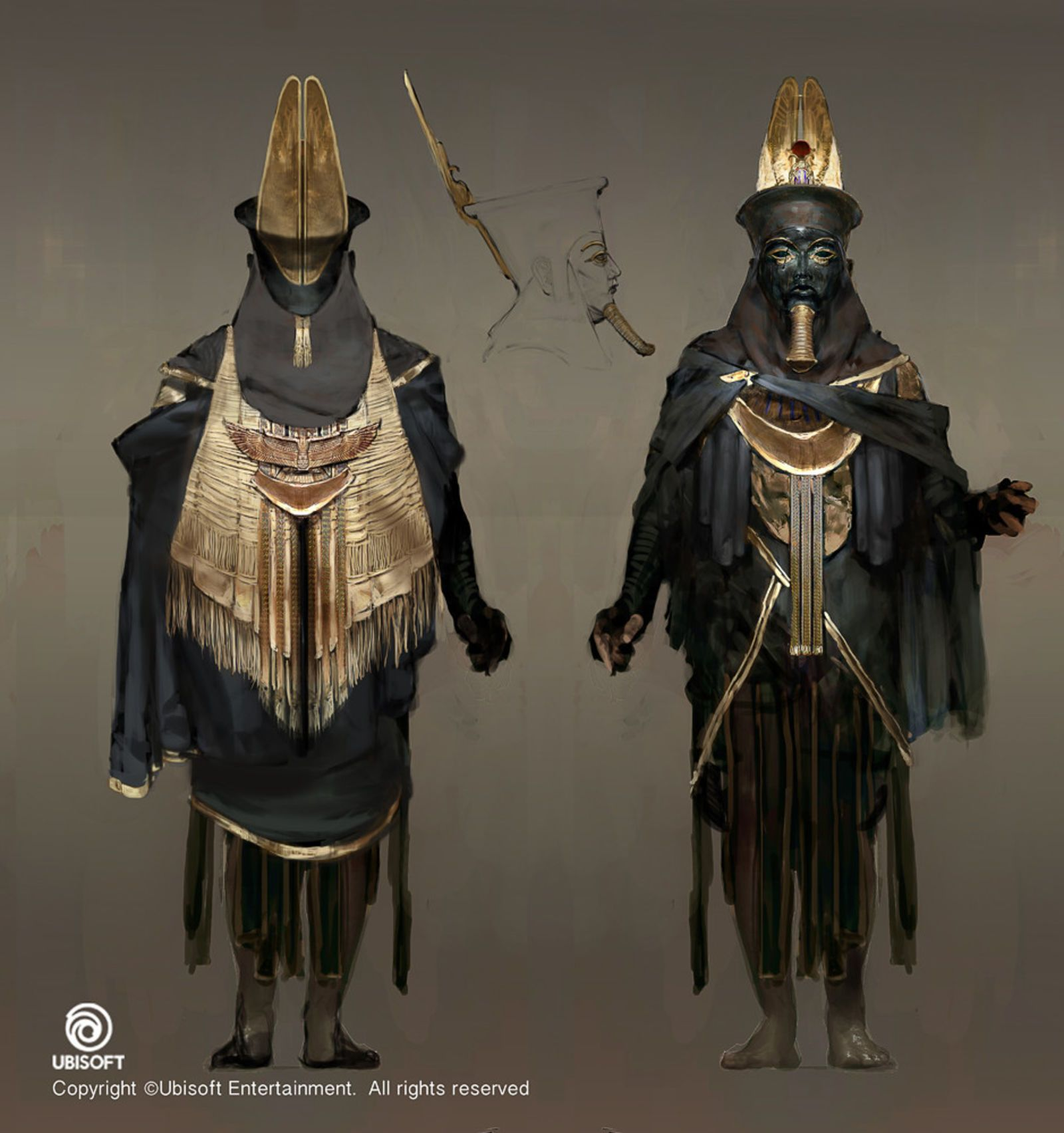 The Art Of Assassin S Creed Origins Concept Art Characters