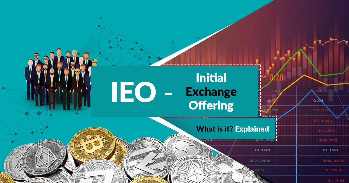 An IEO is carried out by an exchange, therefore, relieving