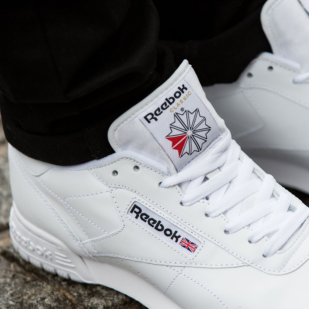 f86ab183afa8 The Reebok Workout Plus Low Trainer. Available in mens   womens sizes.