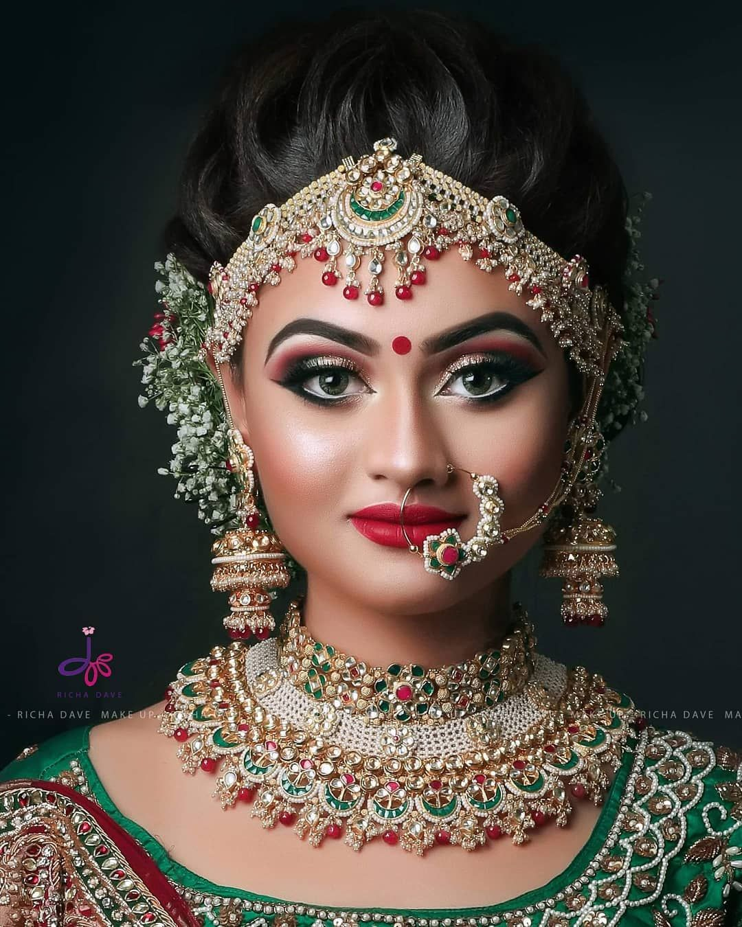 Bride Model at Mumbai Seminar and Mumbai. Makeup