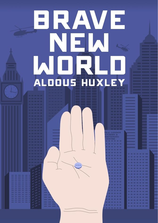 Image result for brave new world cover