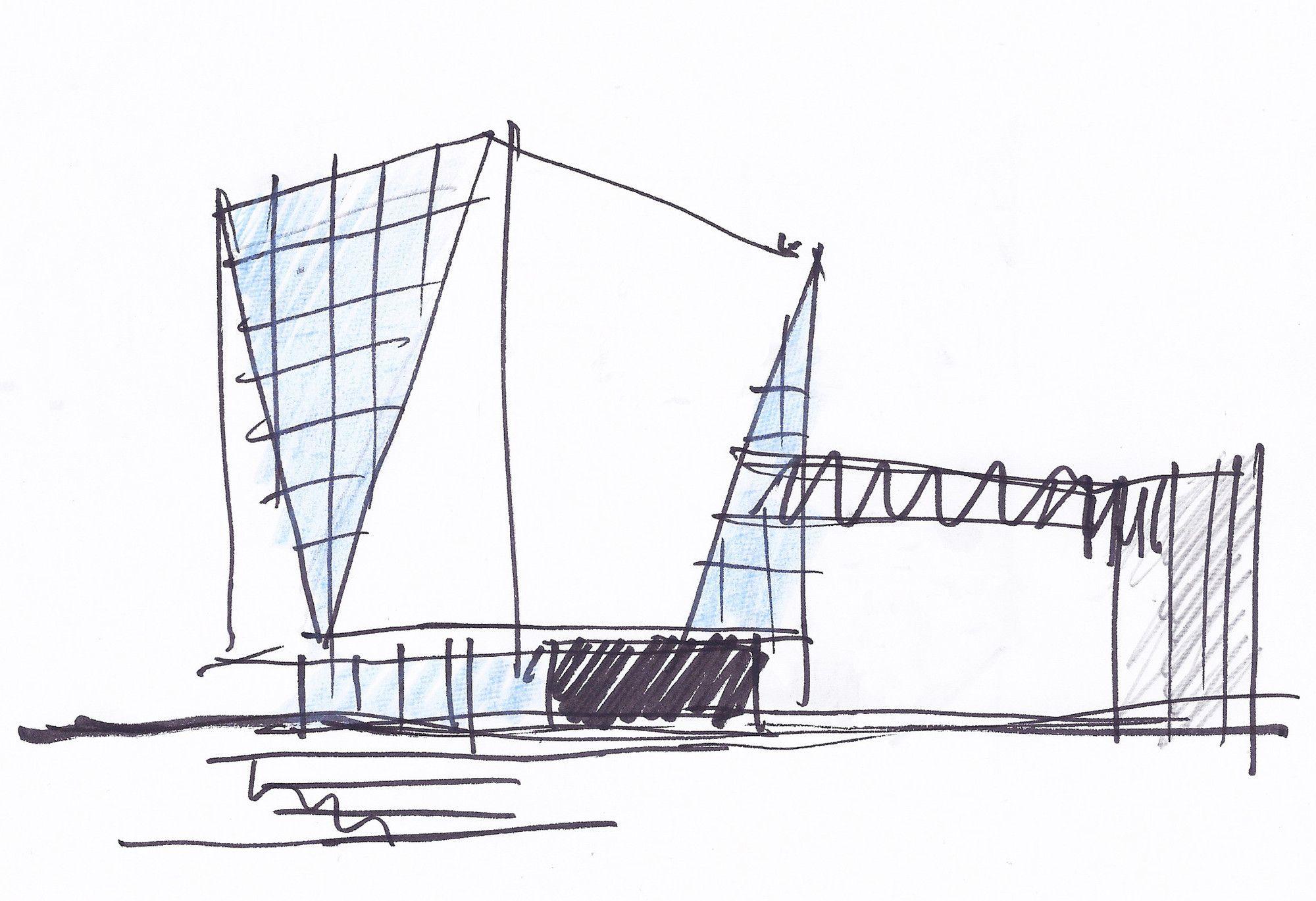 simple architectural drawings. Exellent Simple Simple Architectural Drawings Gallery Of Vila Franca De Xira Municipal  Library  Miguel Arruda Arquitectos In Simple Architectural Drawings