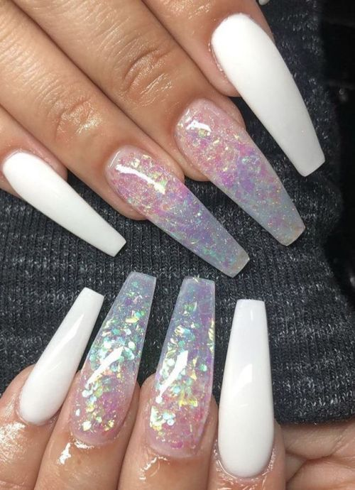 Untitled Solid Color Nails Bridal Nails Prom Nails