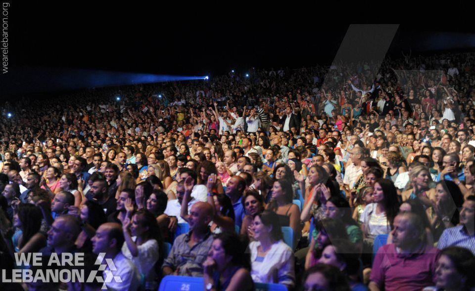 Kazem El Saher at Byblos Festival كاظم الساهر في مهرجان