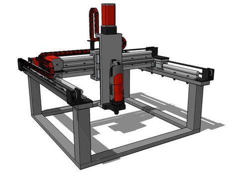 BuildersBot CNCMaschine und 3DDrucker zum selber bauen