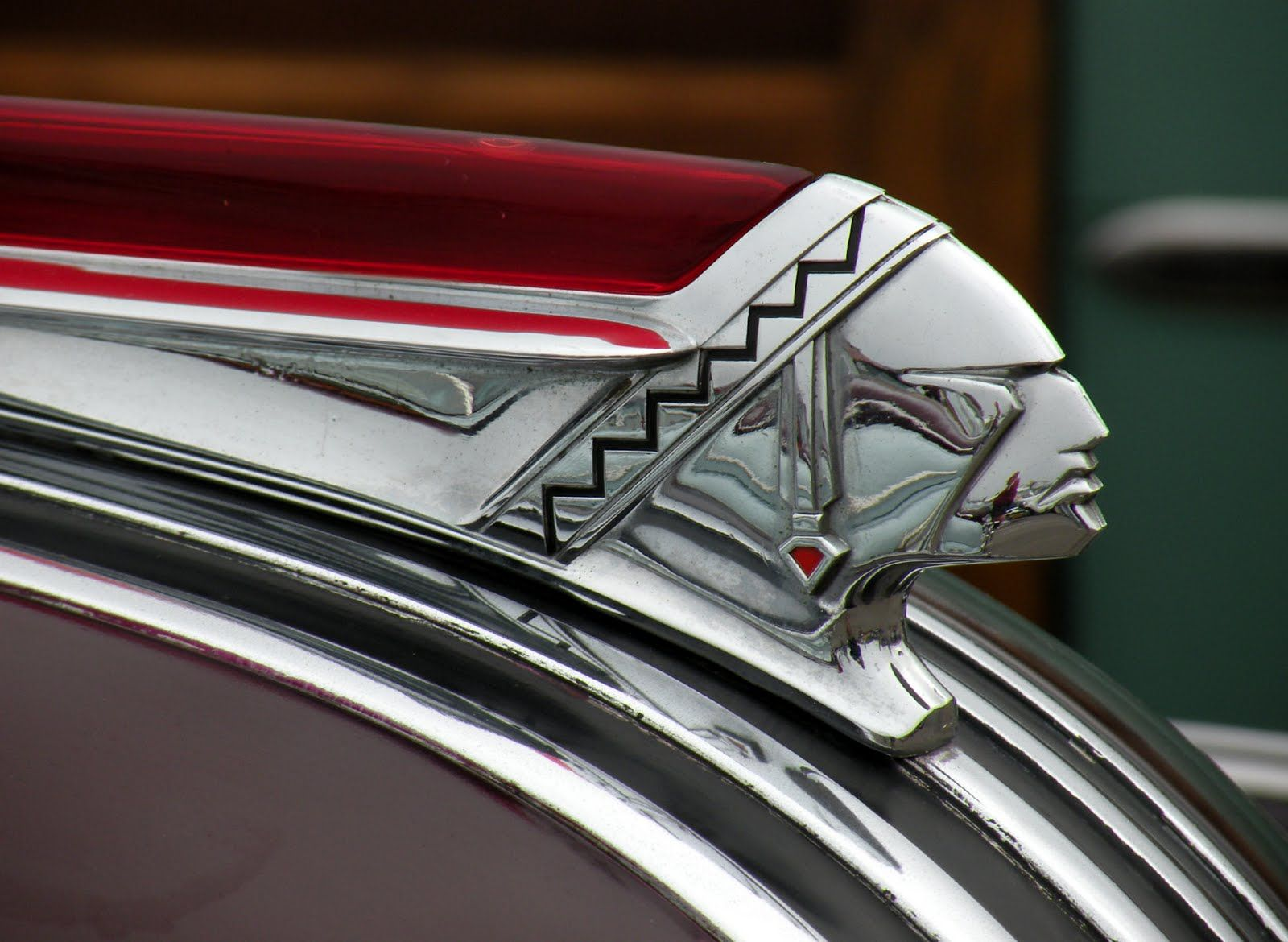 Lalique hood ornaments - Pontiac Hood Ornaments Consistantly Various On The Theme Of Indian Chiefs