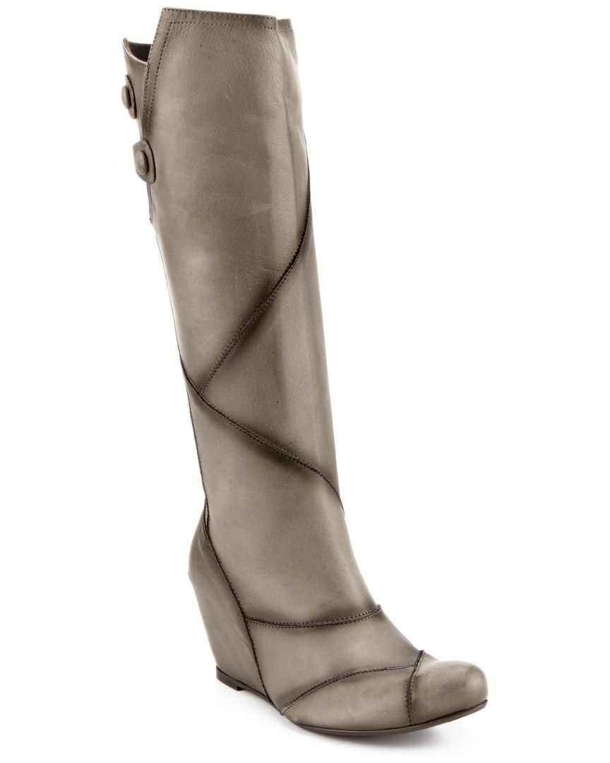 """Miz Mooz """"West"""" Leather Wedge Boot is on Rue. Shop it now."""