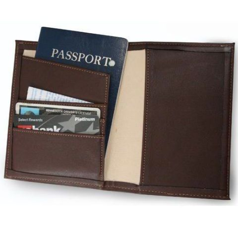 Stocking Stuffer: Duluth Pack Leather Passport Wallet | O-215 | Wallet