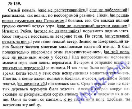 Тематические тесты по русскому языку 5-7 класс шенкман базанова ответы