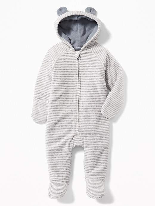 c3fc577e3 Micro Performance Fleece Critter One-Piece for Baby