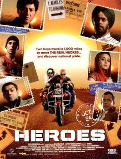 Heroes - Download Indian Movie 2008 Print : DVD [Compress in AVI Format]  Download
