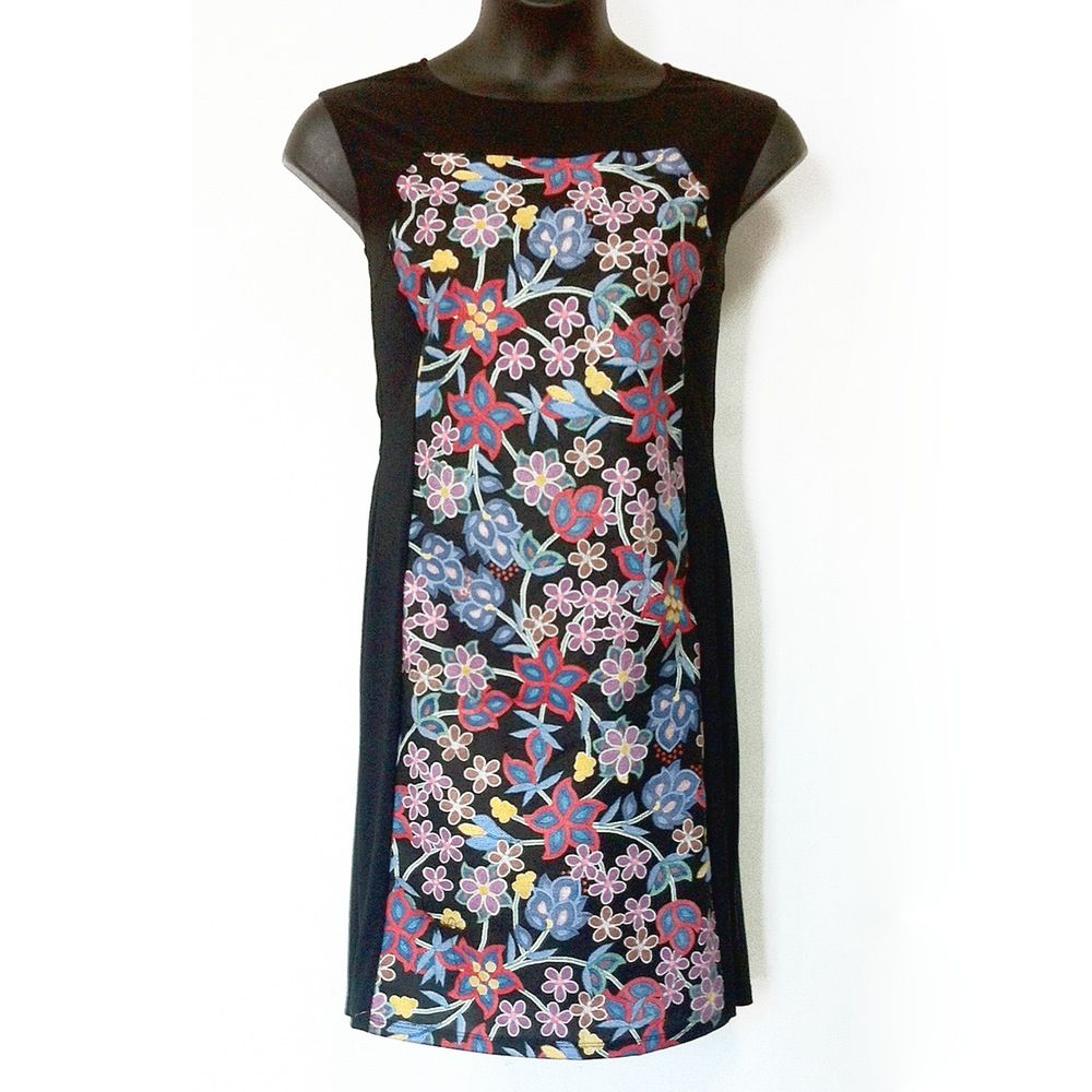 The floral print dress by tammy beauvais adds an indigenous spin on