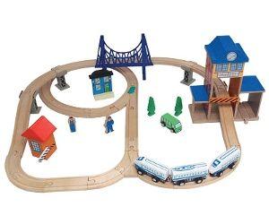 Imaginarium city train set trains en bois pinterest for Cuisine bois toys r us