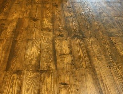 Make Your Own Flooring With 1x6 Pine Floors Pinterest Diy