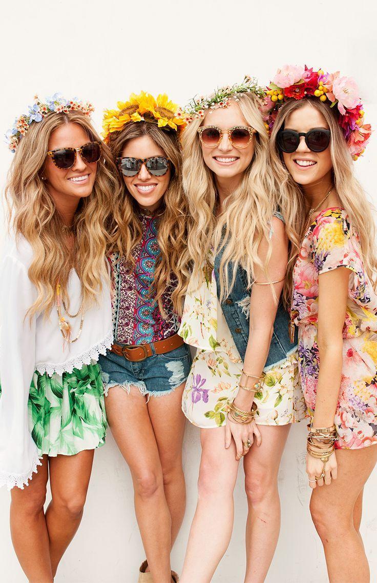 Bloominu beauties tropical fashion pinterest