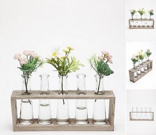 cute vases & flowers