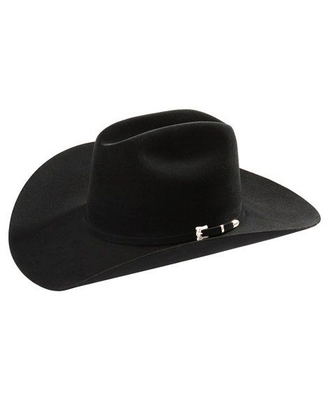 Resistol Black Gold Low Crown 20X Fur Felt Cowboy Hat  460cfbb08aa