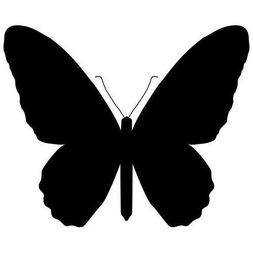 Pochoir papillon 15 gratuit imprimer bricolage pochoir papillon pochoir et a imprimer - Pochoir gratuit a imprimer ...