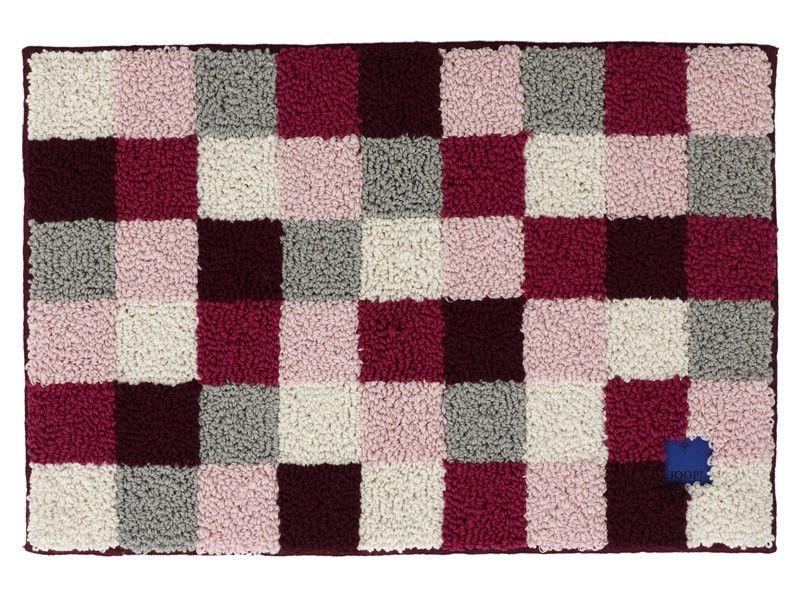 Joop Badezimmerteppich ~ Dywanik joop plaza squares rubin marka joop squares