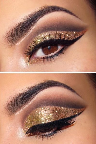Disco Ball Glitter Makeup For Nye With Images Dramatic