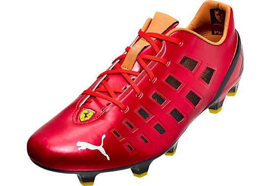 ad1a6d06a30 Puma evoSPEED 1.3 F947 FG Soccer Cleats - Ferrari Red