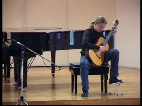 ▶ Carlo Domeniconi - Variation on an Anatolian Folk Song - Uros Janicijevic - YouTube