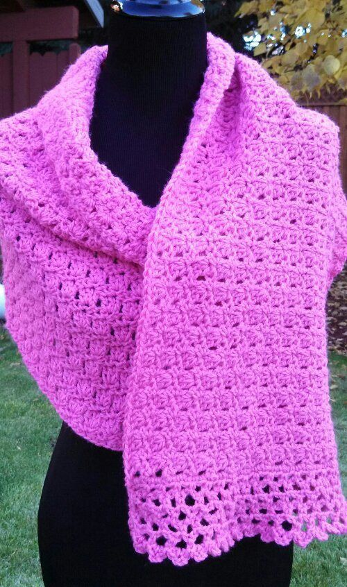 10 Gorgeous Crochet Shawls For Inspiration Crochet In Color Reds