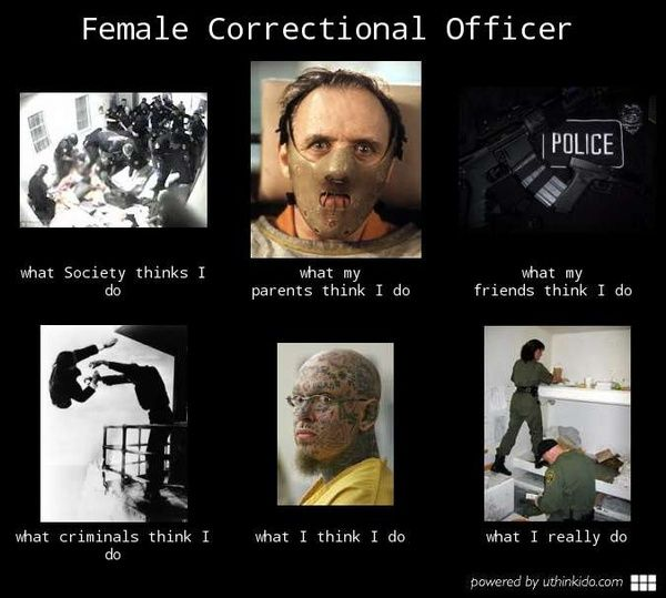 Female Correctional Officer life of a C0 Pinterest Future jobs