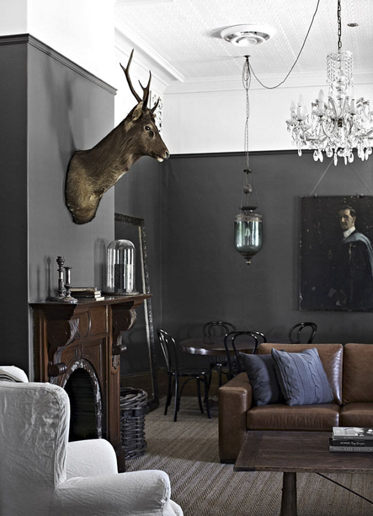 Wandfarbe | Farbe | Pinterest | Wandfarbe, Herrenzimmer und Kolonialstil