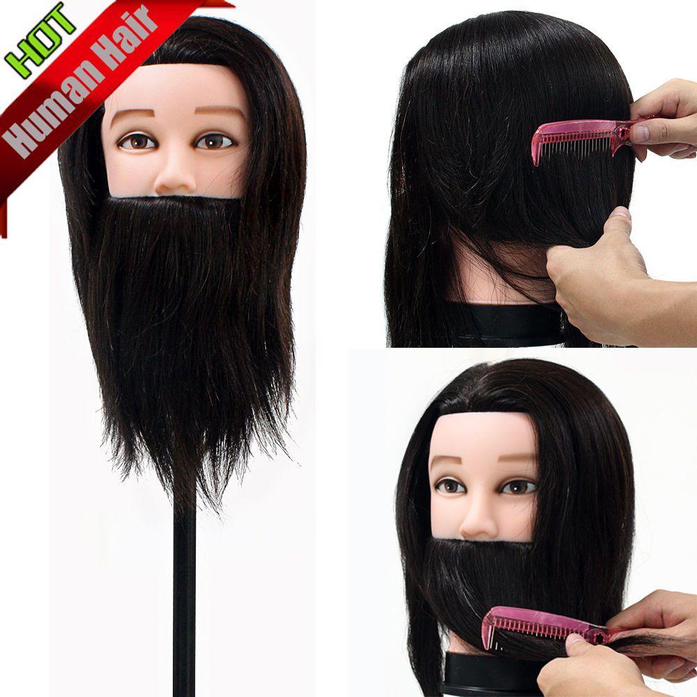 Encontrar Más Maniquíes Información acerca de 100% Real del cabello humano…