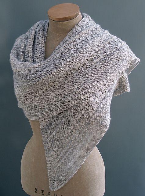 Lichen & Moss shawl