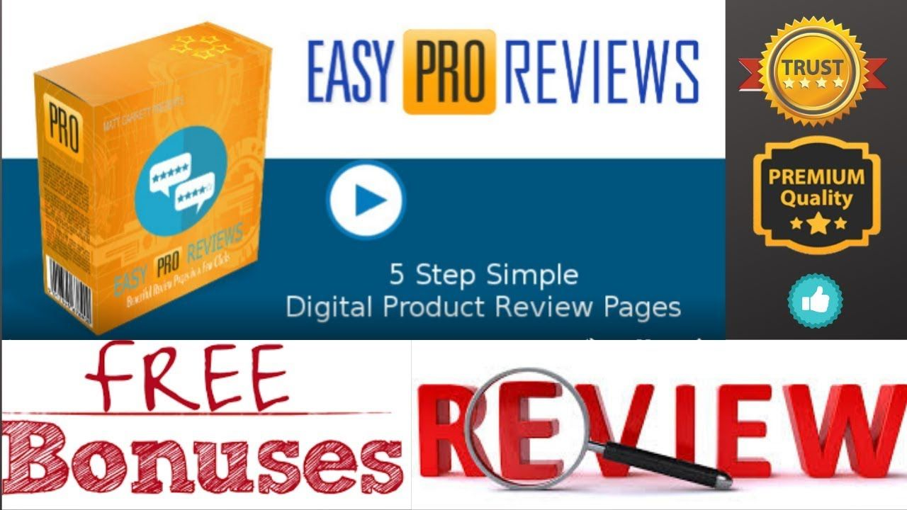 Easy Pro Reviews Review Easy Pro Reviews Demo Easy Pro Reviews Bonuses In 2020 Work From Home Jobs Bonus Reviews