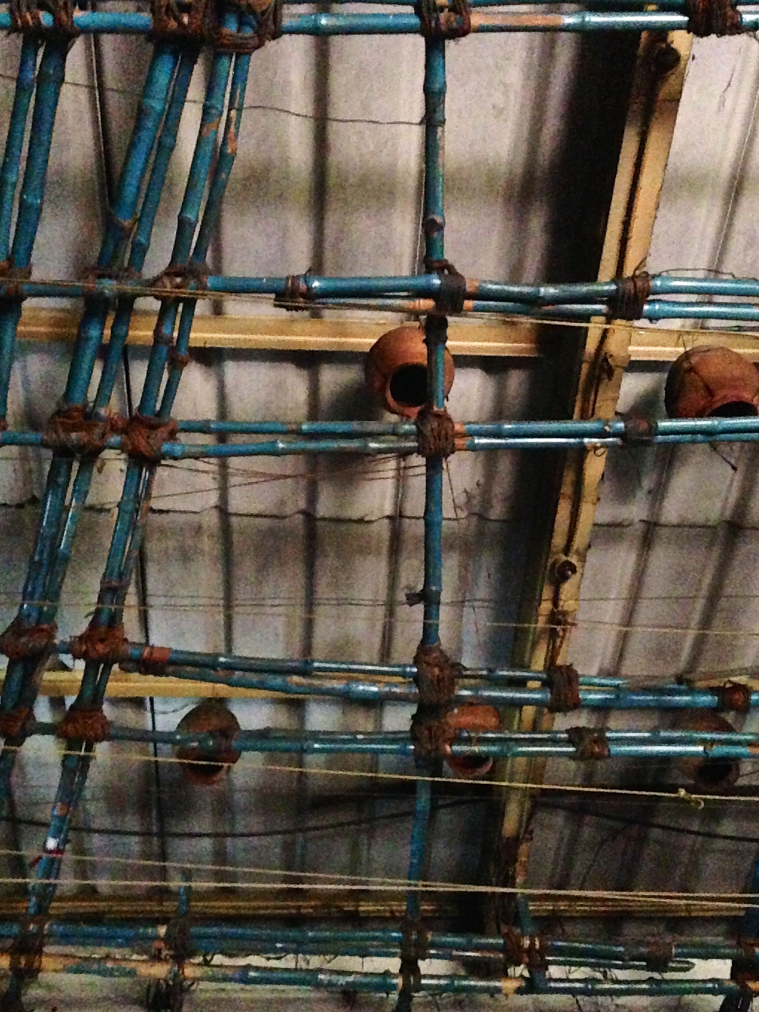 Pots in the rafters, Kolkata 2014. Maya Bhalla
