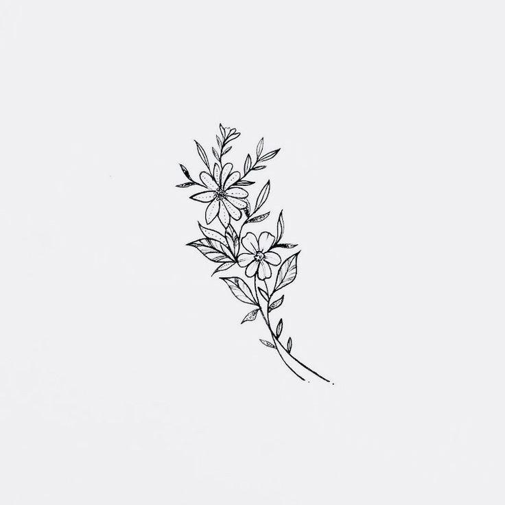 Bon   Totalement gratuit  Tatouage floral Idées
