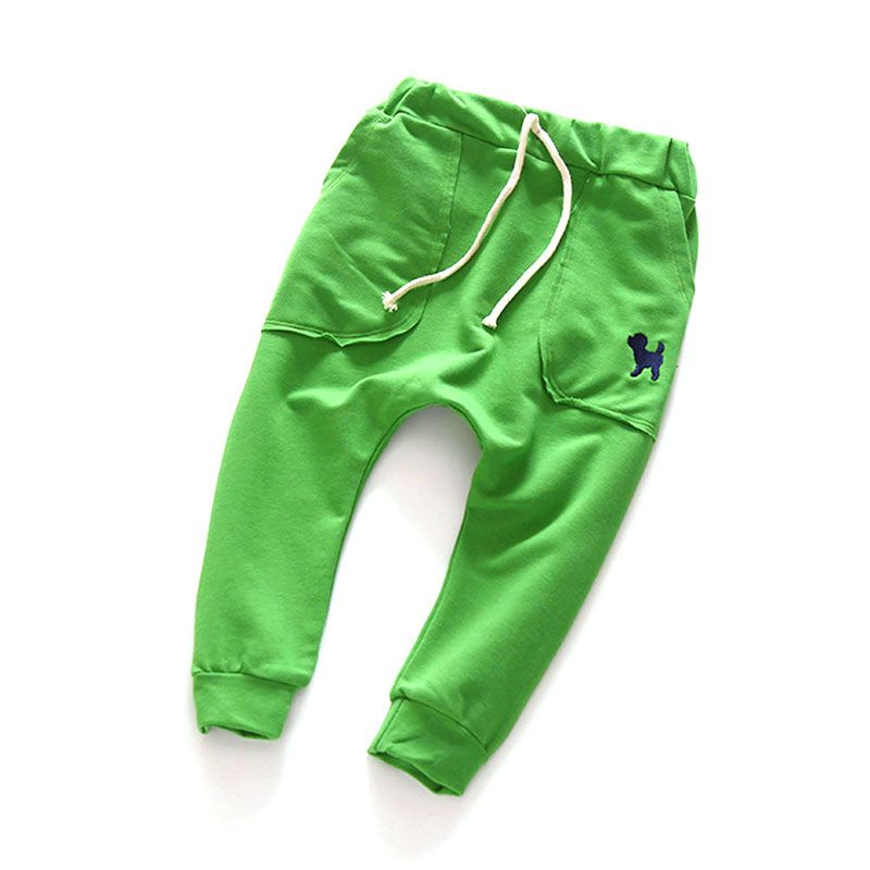 Childrens Toddler Kid Boys Girls Cotton Harem Pants Trousers Slacks Bottoms 2-7Y