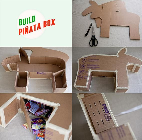 how to make a different shaped pinata