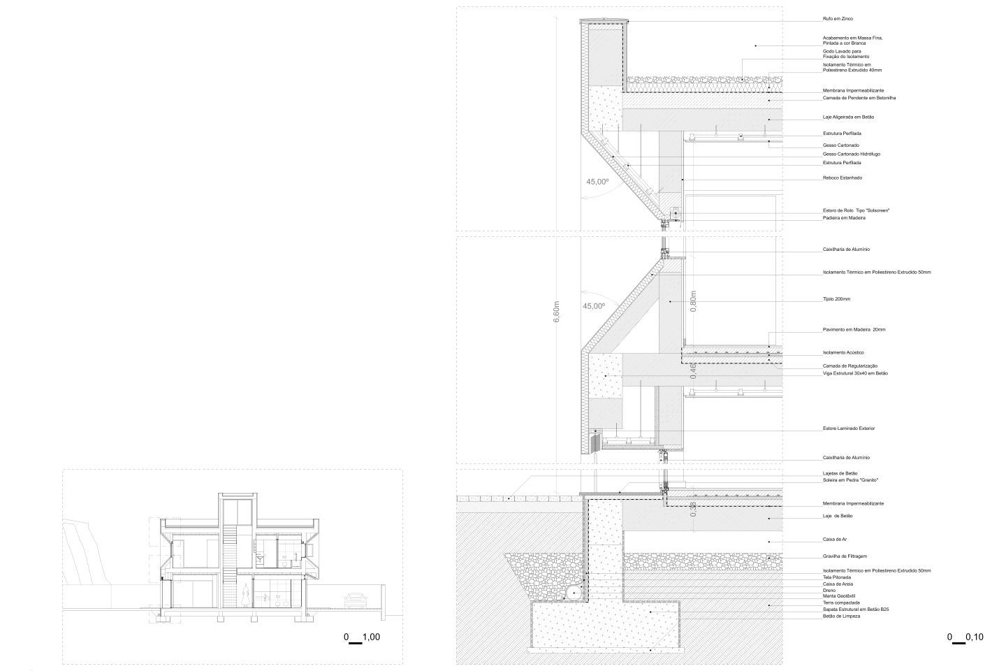 Located in a context of urban expansion of a residential area of Mirandela, this plot had a set of well-defined rules regarding its site plan, setbacks and mass. Given this, the design quickly developed into a compact and linear volume organized on a s...