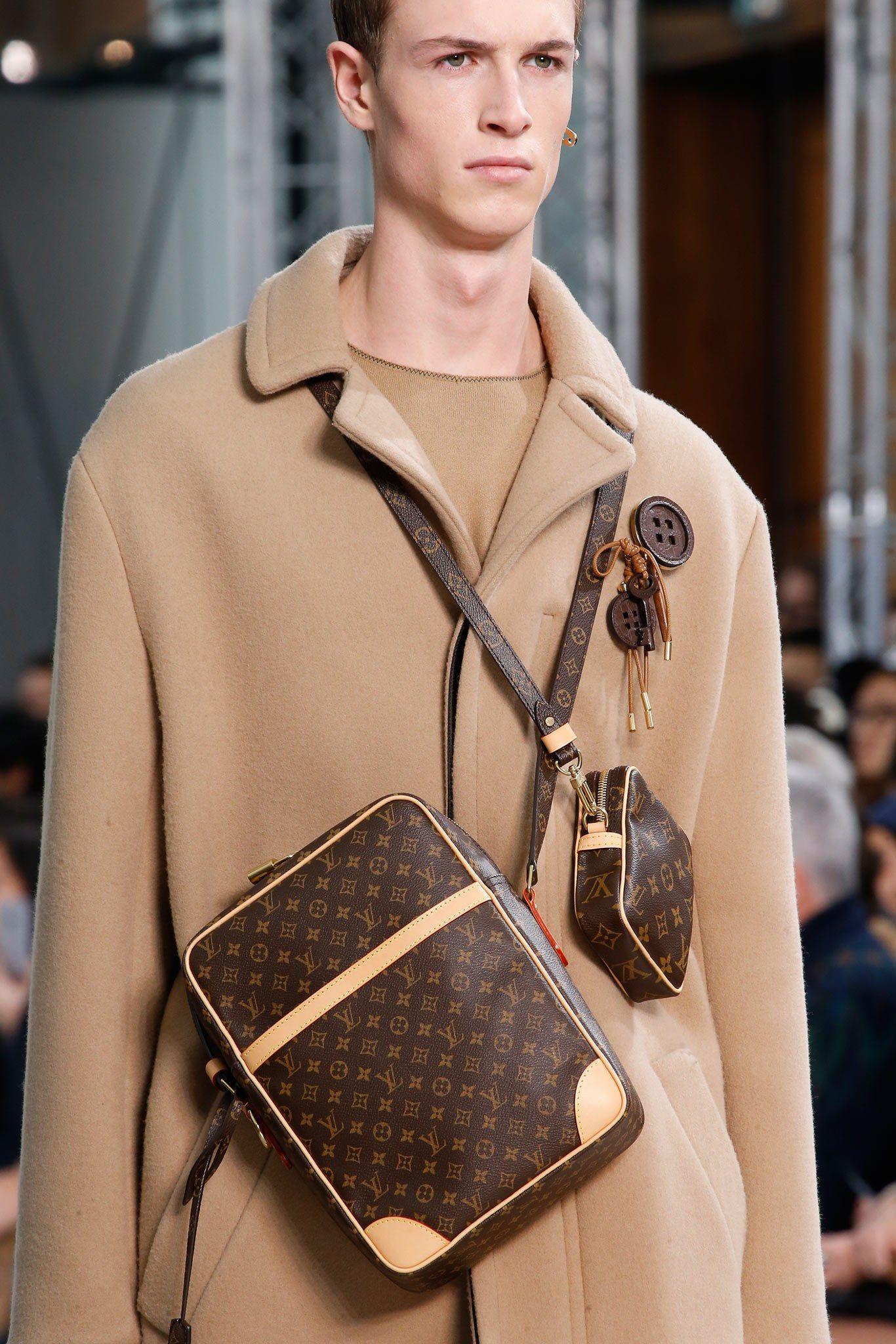 Louis Vuitton Fall 2015 Menswear Fashion Show Details Louis Vuitton Vuitton Louis Vuitton Men